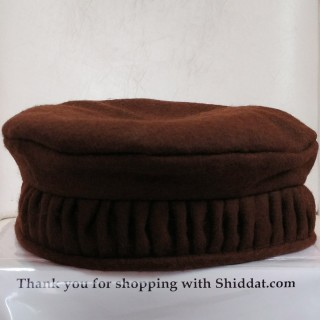 Afghani Pakol Hat-Brown